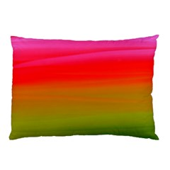 Watercolour Abstract Paint Digitally Painted Background Texture Pillow Case