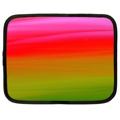 Watercolour Abstract Paint Digitally Painted Background Texture Netbook Case (xxl)