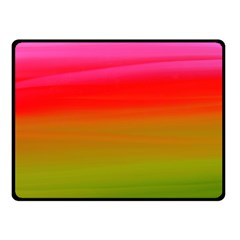 Watercolour Abstract Paint Digitally Painted Background Texture Fleece Blanket (small)