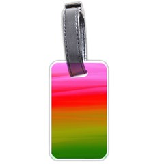 Watercolour Abstract Paint Digitally Painted Background Texture Luggage Tags (One Side)