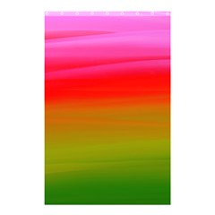 Watercolour Abstract Paint Digitally Painted Background Texture Shower Curtain 48  X 72  (small)