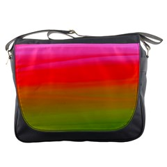 Watercolour Abstract Paint Digitally Painted Background Texture Messenger Bags