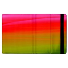 Watercolour Abstract Paint Digitally Painted Background Texture Apple iPad 3/4 Flip Case