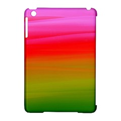 Watercolour Abstract Paint Digitally Painted Background Texture Apple iPad Mini Hardshell Case (Compatible with Smart Cover)