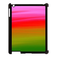Watercolour Abstract Paint Digitally Painted Background Texture Apple Ipad 3/4 Case (black)