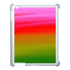 Watercolour Abstract Paint Digitally Painted Background Texture Apple Ipad 3/4 Case (white)