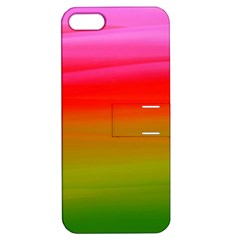 Watercolour Abstract Paint Digitally Painted Background Texture Apple Iphone 5 Hardshell Case With Stand