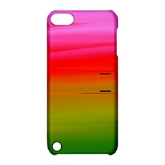 Watercolour Abstract Paint Digitally Painted Background Texture Apple iPod Touch 5 Hardshell Case with Stand