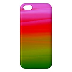 Watercolour Abstract Paint Digitally Painted Background Texture Apple iPhone 5 Premium Hardshell Case