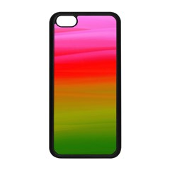 Watercolour Abstract Paint Digitally Painted Background Texture Apple Iphone 5c Seamless Case (black)