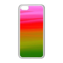 Watercolour Abstract Paint Digitally Painted Background Texture Apple iPhone 5C Seamless Case (White)