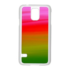 Watercolour Abstract Paint Digitally Painted Background Texture Samsung Galaxy S5 Case (white)