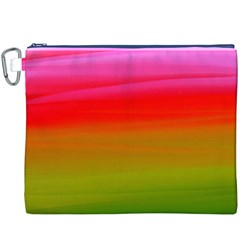 Watercolour Abstract Paint Digitally Painted Background Texture Canvas Cosmetic Bag (xxxl)