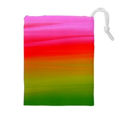 Watercolour Abstract Paint Digitally Painted Background Texture Drawstring Pouches (extra Large)