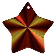 Copper Beams Abstract Background Pattern Ornament (star)