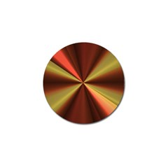 Copper Beams Abstract Background Pattern Golf Ball Marker
