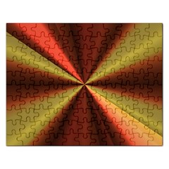 Copper Beams Abstract Background Pattern Rectangular Jigsaw Puzzl