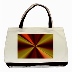 Copper Beams Abstract Background Pattern Basic Tote Bag