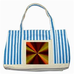 Copper Beams Abstract Background Pattern Striped Blue Tote Bag