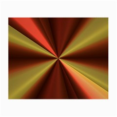 Copper Beams Abstract Background Pattern Small Glasses Cloth (2 Side)