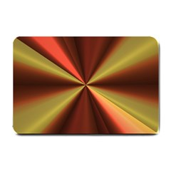 Copper Beams Abstract Background Pattern Small Doormat