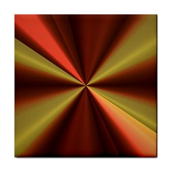 Copper Beams Abstract Background Pattern Face Towel