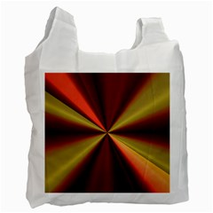 Copper Beams Abstract Background Pattern Recycle Bag (two Side)