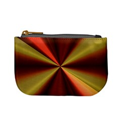 Copper Beams Abstract Background Pattern Mini Coin Purses