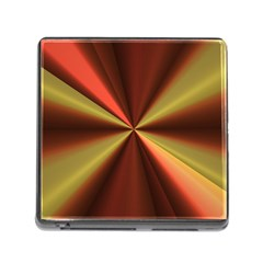 Copper Beams Abstract Background Pattern Memory Card Reader (square)