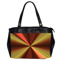 Copper Beams Abstract Background Pattern Office Handbags (2 Sides)