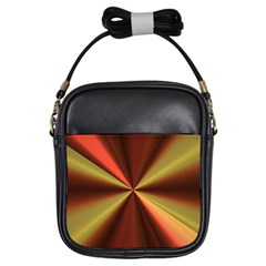 Copper Beams Abstract Background Pattern Girls Sling Bags