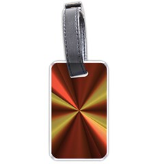Copper Beams Abstract Background Pattern Luggage Tags (Two Sides)