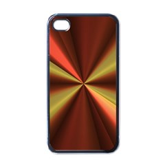 Copper Beams Abstract Background Pattern Apple Iphone 4 Case (black)