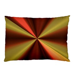Copper Beams Abstract Background Pattern Pillow Case (two Sides)