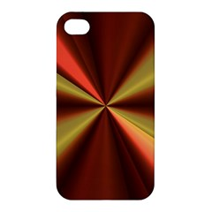 Copper Beams Abstract Background Pattern Apple iPhone 4/4S Hardshell Case