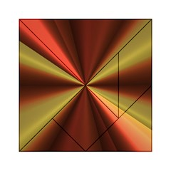 Copper Beams Abstract Background Pattern Acrylic Tangram Puzzle (6  x 6 )