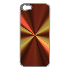 Copper Beams Abstract Background Pattern Apple iPhone 5 Case (Silver)