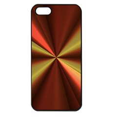 Copper Beams Abstract Background Pattern Apple iPhone 5 Seamless Case (Black)