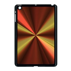 Copper Beams Abstract Background Pattern Apple iPad Mini Case (Black)