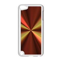Copper Beams Abstract Background Pattern Apple iPod Touch 5 Case (White)