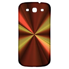 Copper Beams Abstract Background Pattern Samsung Galaxy S3 S Iii Classic Hardshell Back Case