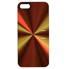 Copper Beams Abstract Background Pattern Apple Iphone 5 Hardshell Case With Stand