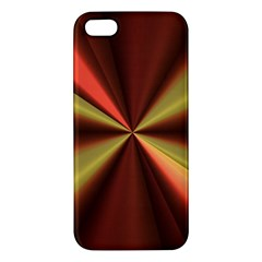 Copper Beams Abstract Background Pattern Apple Iphone 5 Premium Hardshell Case