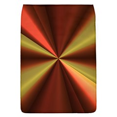 Copper Beams Abstract Background Pattern Flap Covers (L)