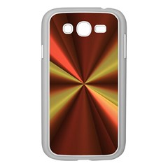 Copper Beams Abstract Background Pattern Samsung Galaxy Grand DUOS I9082 Case (White)