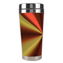 Copper Beams Abstract Background Pattern Stainless Steel Travel Tumblers