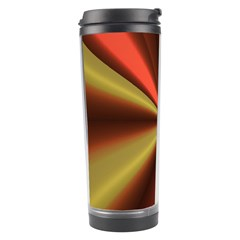 Copper Beams Abstract Background Pattern Travel Tumbler