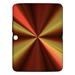 Copper Beams Abstract Background Pattern Samsung Galaxy Tab 3 (10.1 ) P5200 Hardshell Case