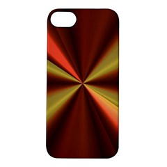 Copper Beams Abstract Background Pattern Apple iPhone 5S/ SE Hardshell Case