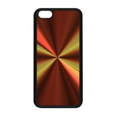 Copper Beams Abstract Background Pattern Apple iPhone 5C Seamless Case (Black)